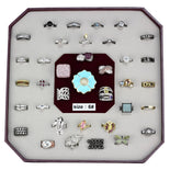 VK-010-SIZE6 Assorted Brass Ring with Assorted in Assorted