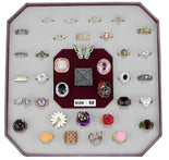 VK-022-SIZE8 Assorted Brass Ring with Assorted in Assorted