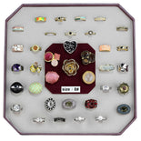 VK-031-SIZE8 Assorted Brass Ring with Assorted in Assorted