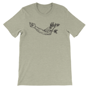 Statue with Arrows Men's Tee