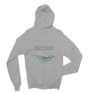 GRCDC Narwhal Fleece Zip Up Hoodie