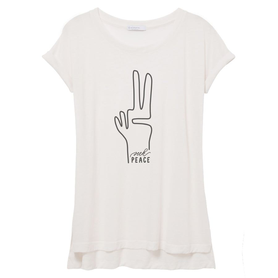 Seek Peace Flowy Women's Tee