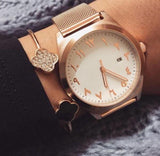 Al Hejaz Gold Arabic Numeral Watch