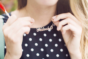 Personalised Name Necklace with GIFT BOX!