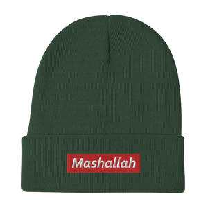 Mashallah Embroidered Beanie