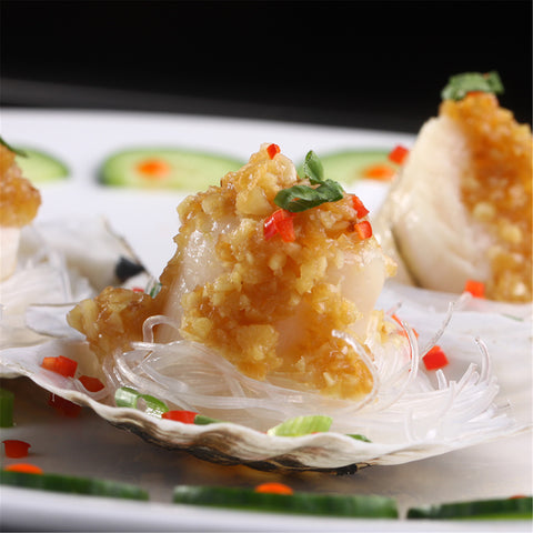 地道中国味蒜蓉粉丝扇⻉ Frozen Garlic Scallop with Vermicelli - Jack & King's
