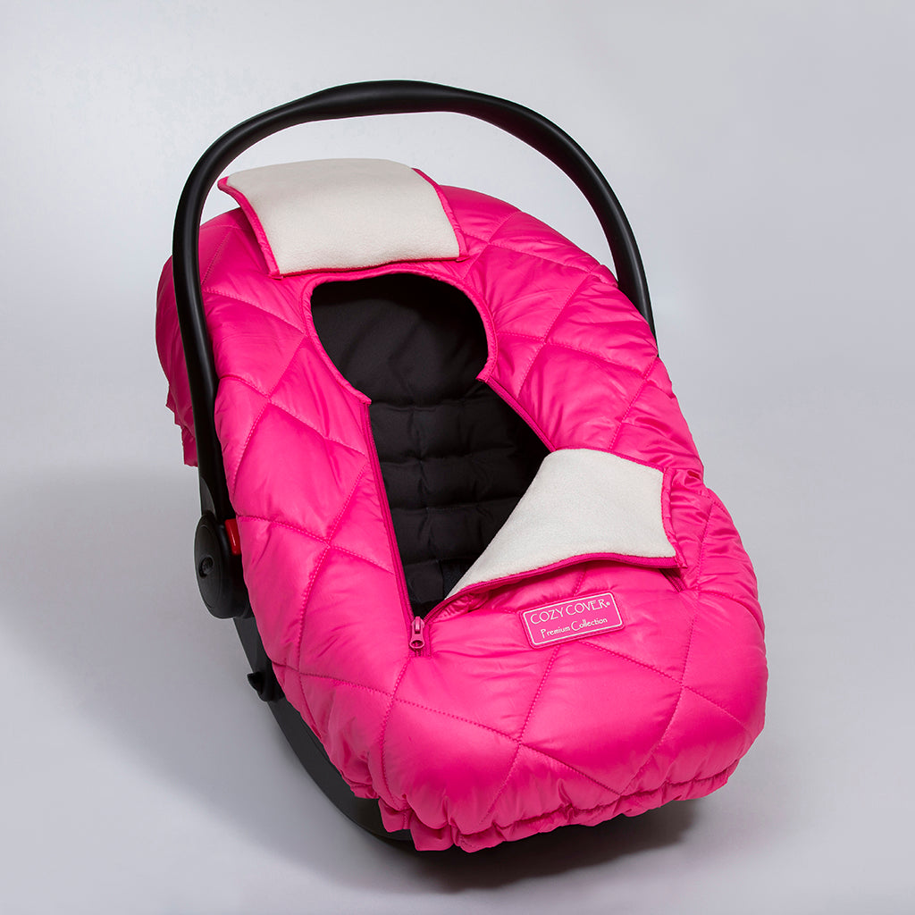 cozy cover premium infant car seat carrier cover bubbabedotcom. Black Bedroom Furniture Sets. Home Design Ideas
