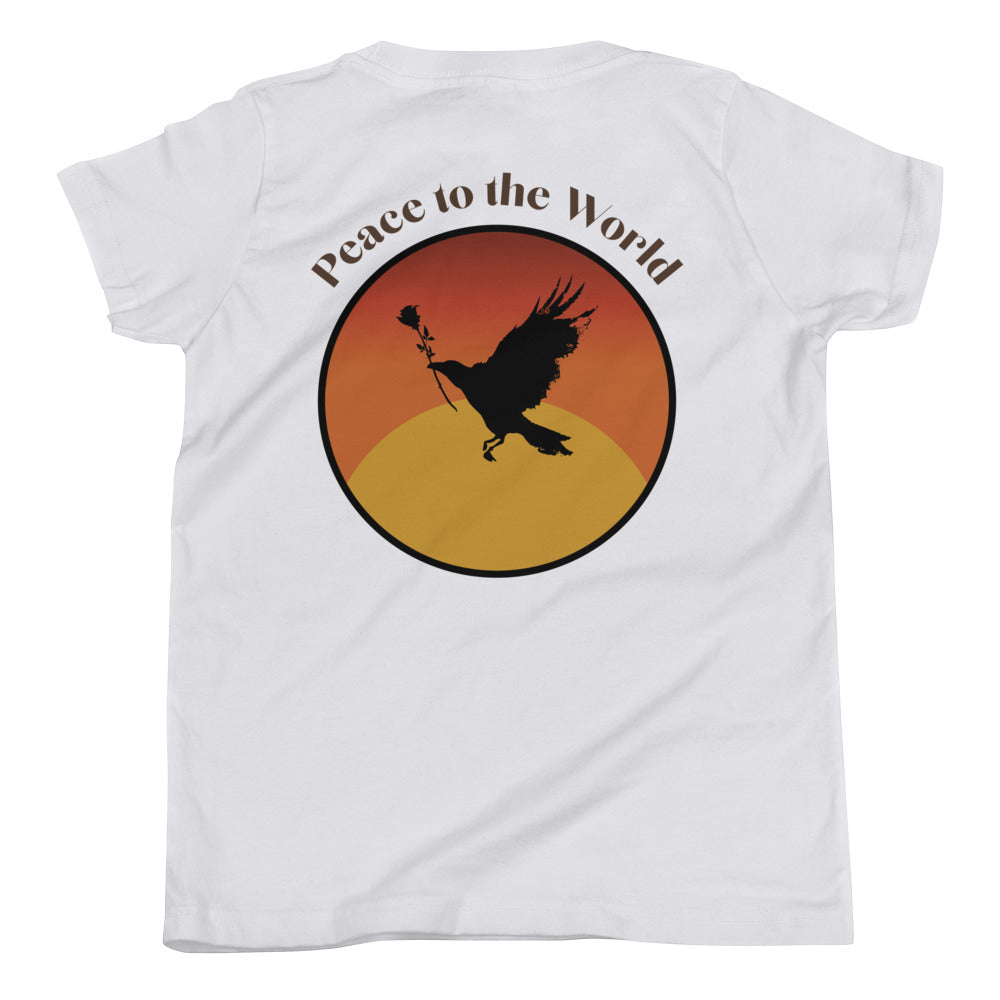 Kids Peace To The World Shirt