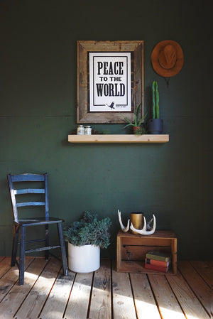 'Peace To The World' Poster