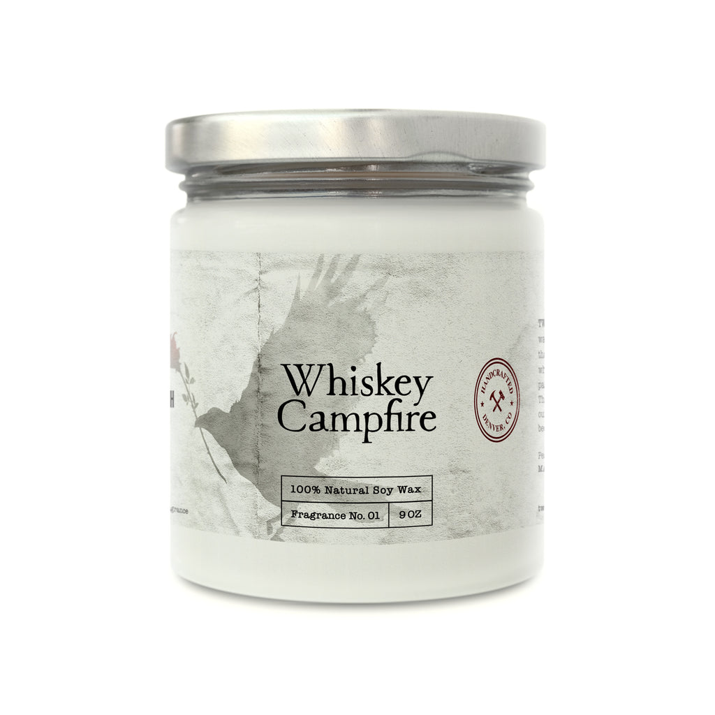 Whiskey Campfire Soy Candle