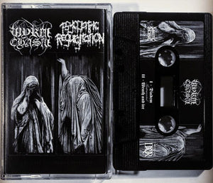 "Wyrm Chasm + Psychiatric Regurgitation ""The Purge Of Shrouded Martyrdom"" tape"