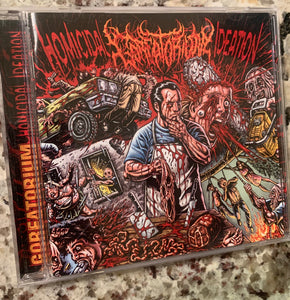 "Goreatorium - "" Homicidal Ideation"" cd"