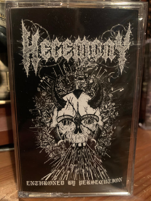HEGEMONY - Enthroned By Persecution (CASSETTE)