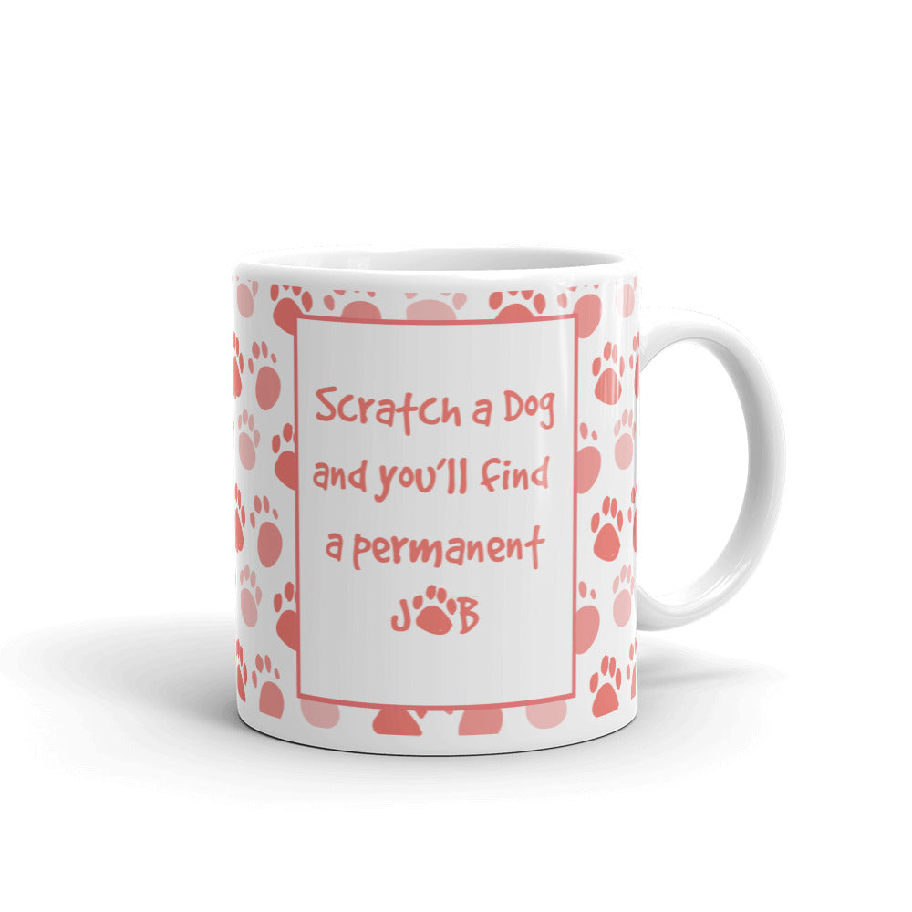 Permanent Job Quote Mug