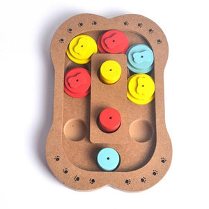 Wooden IQ training toy