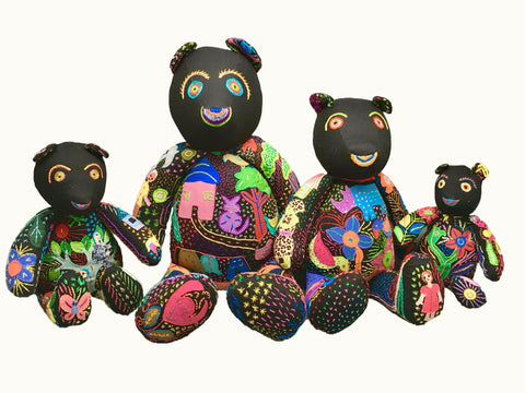 Teddy Bear Family Handcrafted Gift