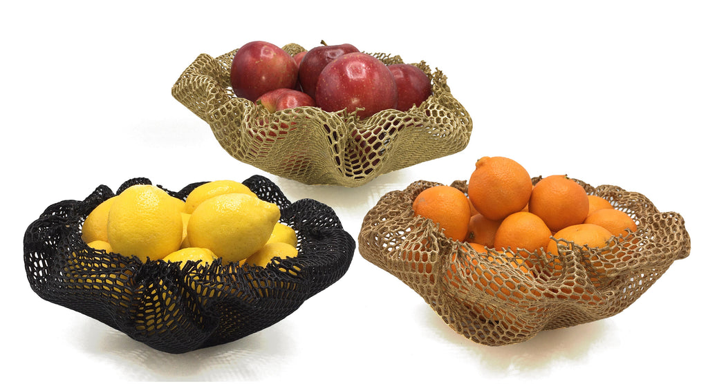 Moonbasket Folded Net Baskets