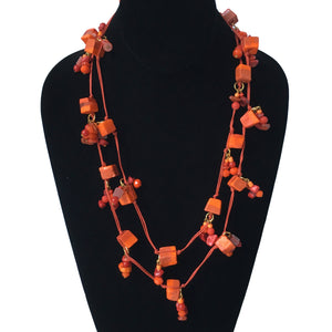 "Candy Crunch Necklace: ""Orange"" You Glad?"