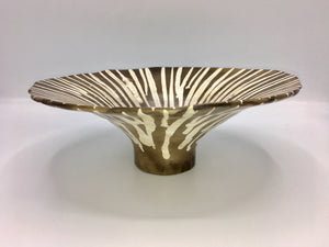 Potina Flared Bowl with Stripes