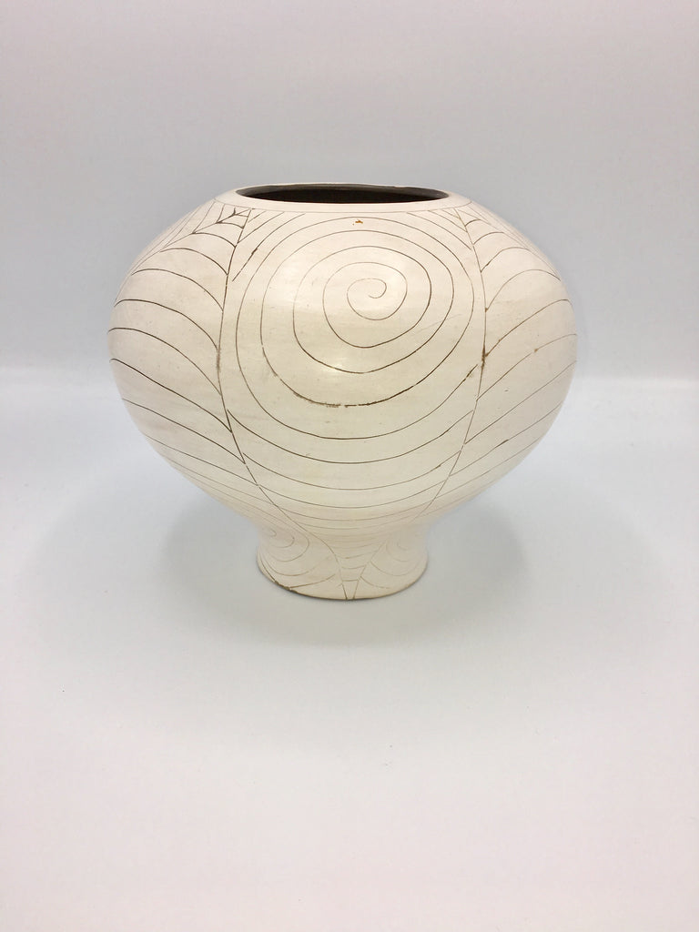 Potina Ball Pot in Creme