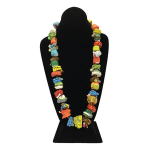 Chunky Fiesta Long Necklace