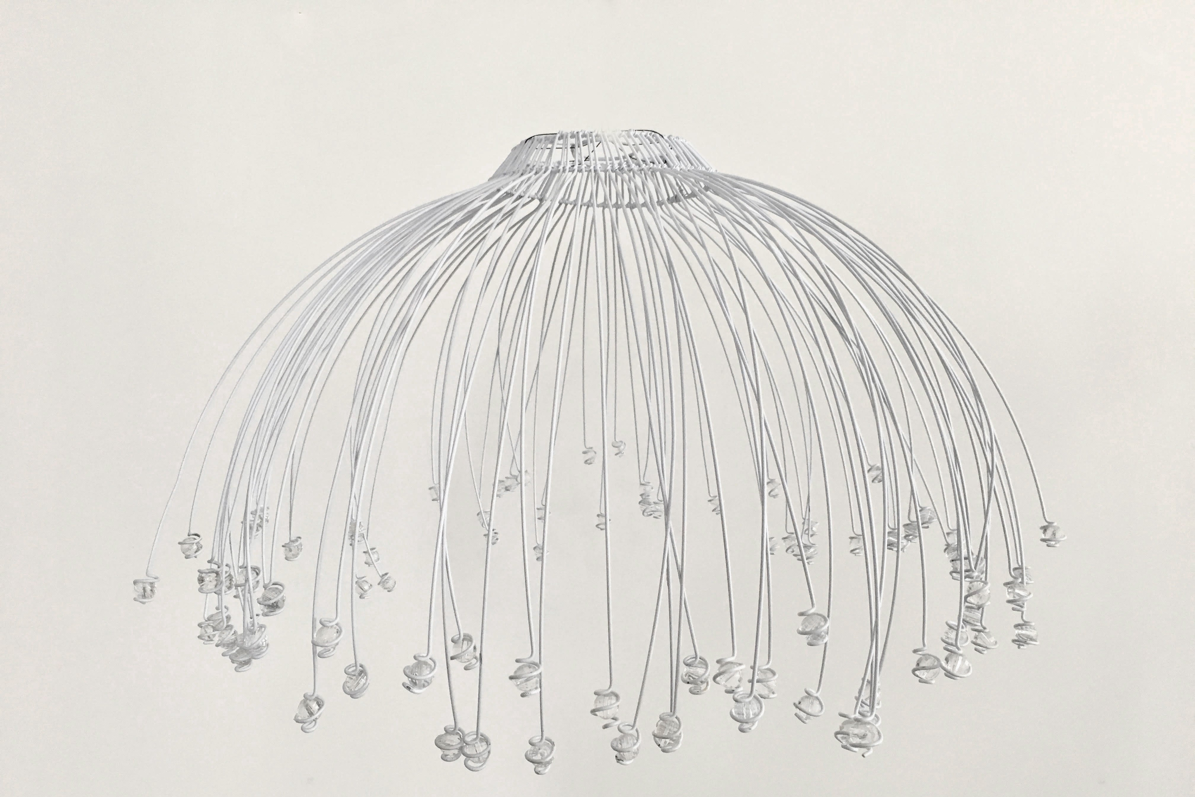 Jellyfish chandelier thecurioustour jellyfish chandelier mozeypictures Choice Image