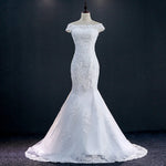 Vintage Lace Mermaid Wedding Dress