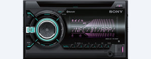 sony - CD Receiver with BLUETOOTH® Wireless Technology