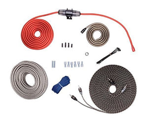 Rockford Fosgate - RFK8X 8 Gauge Power Kit w/ Speaker Wire & 1 x 5m RFI Series RCA