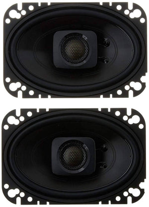 "polk - DB+ 462 4""x 6"" Coaxial Speakers with Marine Certification"