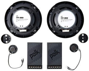 polk - DB+ 5252 Component Speakers with Marine Certification