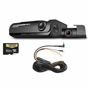 Thinkware - Thinkware F770D64 - Front & Rear Dash Camera with 64GB SD Card & Hardwire Cable