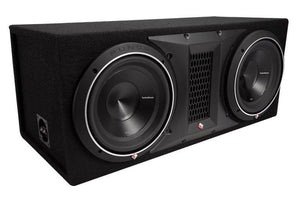 "Rockford Fosgate - 10"" Dual P3 Punch Loaded Enclosure"