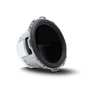"Rockford Fosgate - 12"" Punch Series Marine Subwoofer SVC - 4 Ohm - Luxury White Grille"