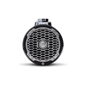 "6.5"" Punch Series Marine Wakeboard Tower Speakers with Enclosure & Sports Grille - Black"