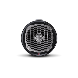"6.5"" Punch Series Marine Wakeboard Tower Speakers with Mini Enclosure & Sports Grille - Black"