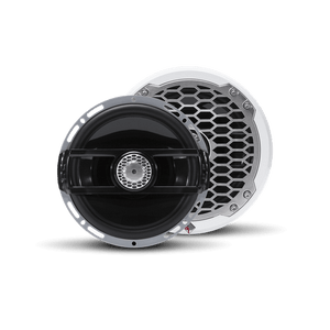 "Rockford Fosgate - 6.5"" Punch Series Marine Full Range Speakers with White Sports Grille"
