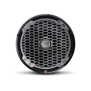 "Rockford Fosgate - 8"" Punch Series Marine Full Range Speakers with Black Sports Grille"