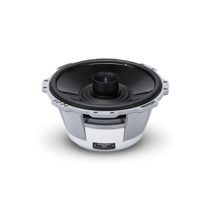 "Rockford Fosgate - 8"" Punch Series Marine Full Range Speakers with Horn Tweeter - White"