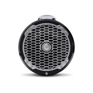 "Rockford Fosgate - 8"" Punch Series Marine Wakeboard Tower Speakers with Enclosure & Sports Grille - Black"
