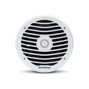 "Rockford Fosgate - 8"" Punch Series Marine Full Range Speakers with White Luxury Grille"