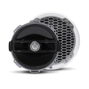 "Rockford Fosgate - 8"" Punch Series Marine Full Range Speakers with White Sports Grille"