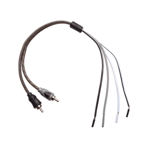 Rockford Fosgate - RFI2SW Speaker Wire to Male RCA Connectors