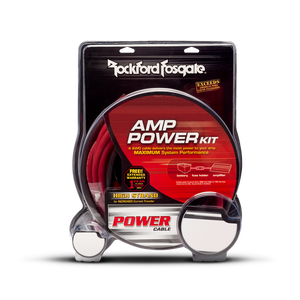 Rockford Fosgate - RFK4 4 Gauge Power Kit