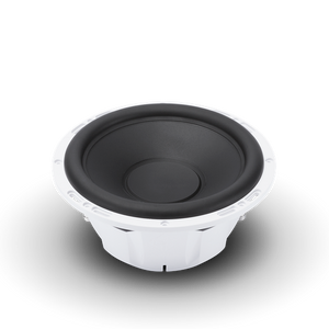 "10"" Prime Series Marine Subwoofer DVC - (2x2-Ohm) - White"