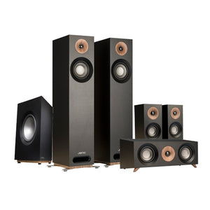 "GL Pro Sound - Home Cinema Pack 2: Jamo S805 5.1 Speaker Pack, 5.1 A/V Receiver, Projector and 100"" Fixed Frame"
