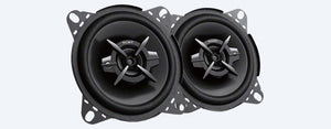 "sony - 10cm (4"") 3-Way Coaxial Speakers"