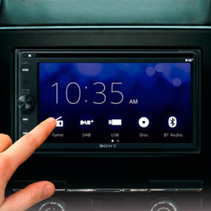 "GL Pro Sound - Sony XAV-AX205DB 6.4"" Touch Screen Apple CarPlay/Android Auto DAB DVD Bluetooth/USB Receiver"