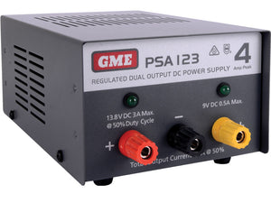 GME - PSA123 4 Amp, Regulated DC Power Supply
