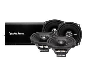 Rockford Fosgate - R1 Prime 4-Channel Amplified Audio System for Harley Davidson 1998-2013
